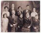 Thomas and Martha Frances Ryan with their children
