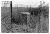 Grave marker, Rawlins County, Kansas
