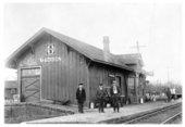 Atchison, Topeka and Santa Fe Railway Company depot, Madison, Kansas