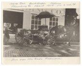 Salina Plumbing Company delivery wagon, Salina, Kansas