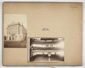 Theater scrapbook and date book, Topeka, Kansas