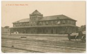 Atchison, Topeka and Santa Fe Railway Company depot, Chanute, Kansas