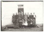 School group, Guilford, Wilson County, Kansas