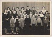 Roseland school class, Miami County Kansas