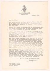 Correspondence Elsie N. Allen Art