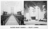 Sacred Heart Catholic Church,  Colby, Thomas County, Kansas