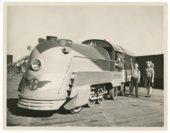 Atchison, Topeka and Santa Fe miniature train