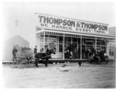 Thompson and Thompson general store photograph