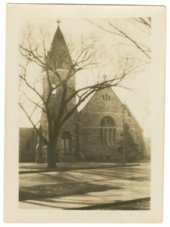Old stone chapel at Fort Riley, Kansas