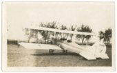 Howard Athon's Alexander Eaglerock bi-plane in Topeka, Kansas