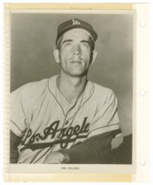 Jim Golden of the Los Angeles Dodgers