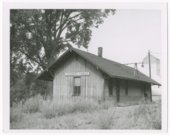 Missouri-Kansas-Texas Railroad depot, Louisburg, Kansas