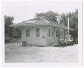 Atchison, Topeka and Santa Fe Railway Company depot, Milton, Kansas