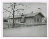 Atchison, Topeka and Santa Fe Railway Company depot, Nortonville, Kansas