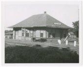 St. Louis-San Francisco Railway depot, Fulton, Kansas