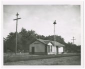 Missouri Pacific Railroad depot, Greeley, Kansas