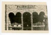 Fairmount Township booth, Kaffir Corn Carnival, El Dorado, Butler County, Kansas