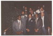 Omega Psi Phi fraternity, Washburn University, Topeka, Kansas