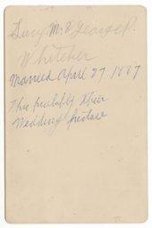 Lucy M. and George P. Whiteker, Topeka, Kansas