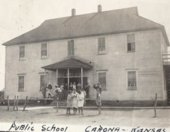 Carona mining camp, Cherokee County, Kansas