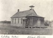 Edison mining camp, Crawford County, Kansas