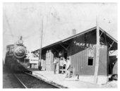 Chicago, Rock Island & Pacific Railroad depot, Haysville, Kansas