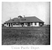 Union Pacific Railroad Company depot, Junction City, Kansas