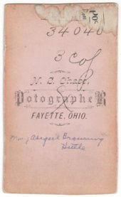 Mary Abigail Browning Hittle photographs