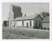 Missouri Pacific Railroad depot, Bronson, Kansas