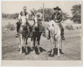 William Boyd and Shawnee County Mounted Posse