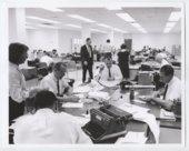 State Journal newspaper building interior, Topeka, Shawnee County