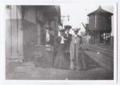 Kansas City, Northwestern Railroad depot, Valley Falls, Kansas