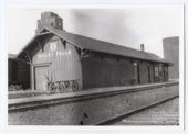 Atchison, Topeka and Santa Fe Railway Company depot, Valley Falls, Kansas