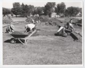 Archeological dig, Fort Hays, Kansas