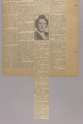 Goddard Woman's Club scrapbook