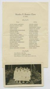 Graduating class of 1934