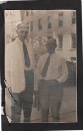 Dr. Arthur E. Hertzler with Wilbur Smith