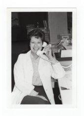 Halstead Hospital staff member Ann Lehman