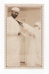Dr. Arthur E. Hertzler and nurse in pre-operation
