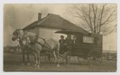Atchison, Topeka and Santa Fe Hospital Association wagon
