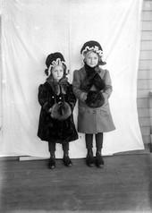Lydia and  Bertha Major