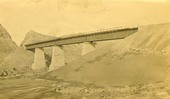 Atchison, Topeka & Santa Fe Railway Company bridge, Abo Canyon, New Mexico
