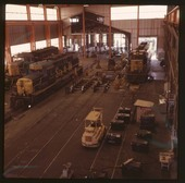 High bay addition to engine shops, Barstow, California