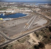 Intermodal facility in Richmond, California