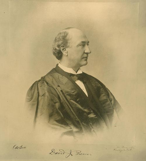 David Josiah Brewer, Kansas Supreme Court Justice - Page