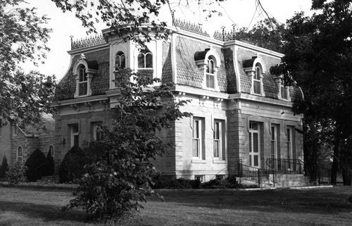 Perry Hutchinson house, Marysville, Kansas - Page