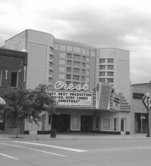 Crest Theatre, Great Bend, Kansas - Page