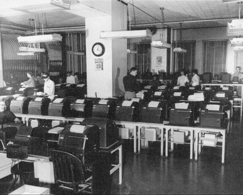 Atchison,Topeka & Santa Fe Railway relay office, Topeka, Kansas - Page