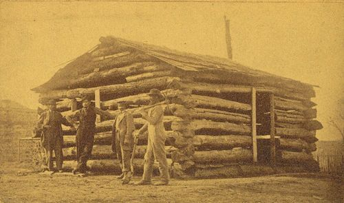First house built in Lawrence, Kansas - Page