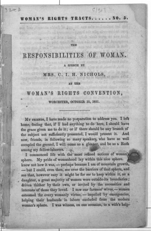 The Responsibilities of Woman - Page